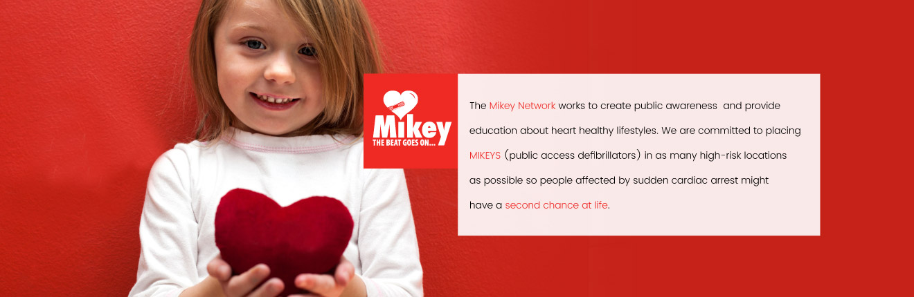 Mikey. Giving Back